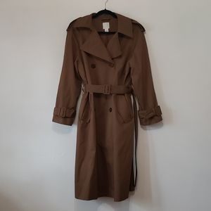 H&M - Khaki Tan Long Trench Coat